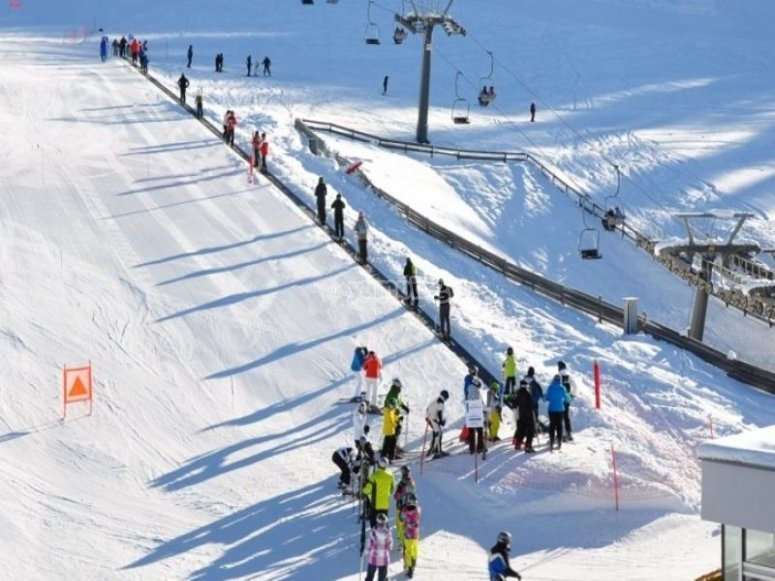 Cinta para debutantes en el esquí