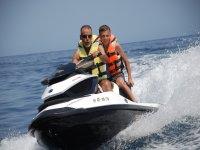 Escursione in condivisione in moto d'acqua