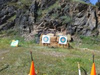 Outdoor targets in Malpica