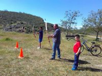Archery in the Toledo field