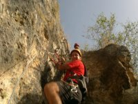Initiation to via ferrata