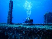 潜水是令人愉快的冒险