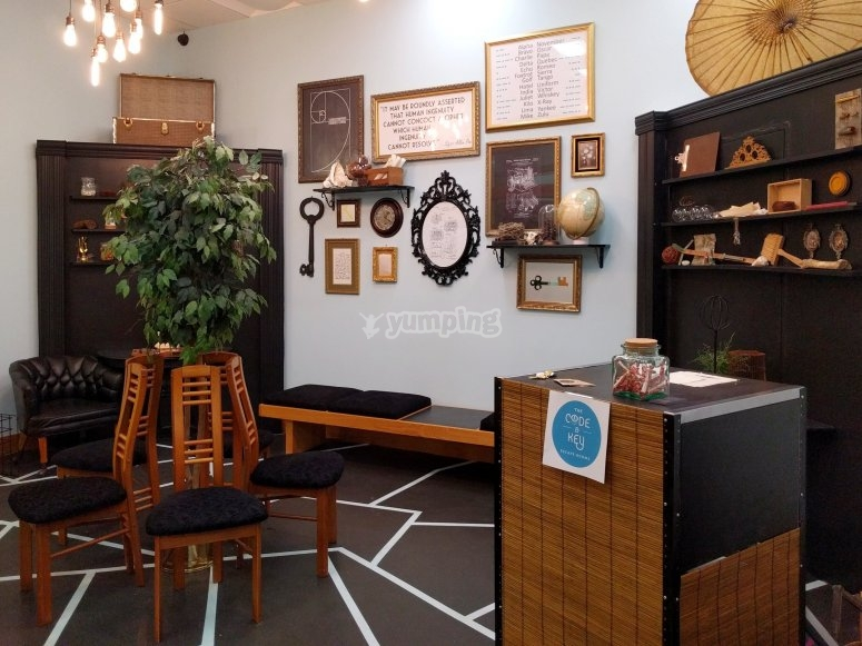 Sala de Ecape Room - Foto de Codeandkeyescaperooms