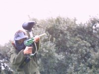 Guerra de paintball