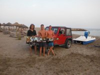 Alumnos de windsurf
