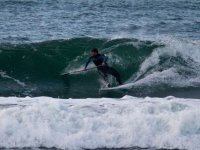 Paddle surf con onde forti