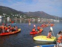 kayak desde el puerto