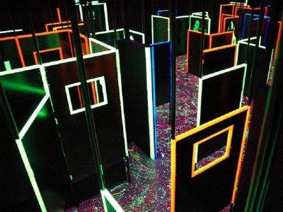 20min Laser Tag Game in Diagonal