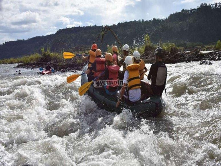 Rafting en Ecuador