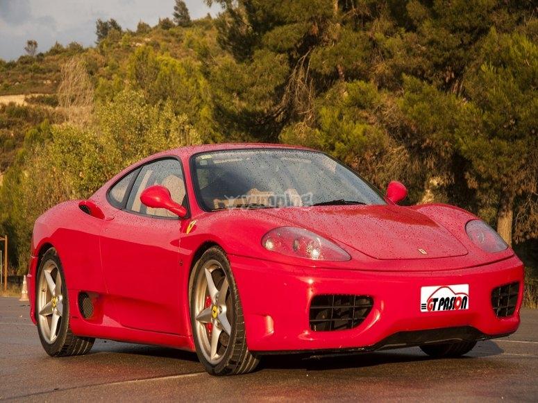 Back of the Ferrari