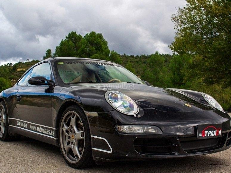 Monta en un Porsche