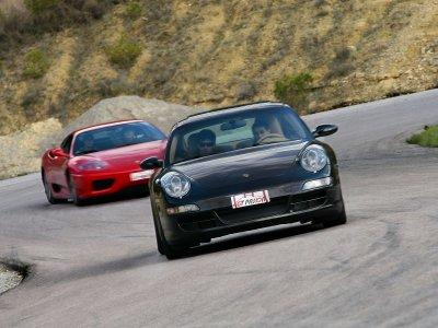 1 vuelta en Porsche. Circuito de Brunete