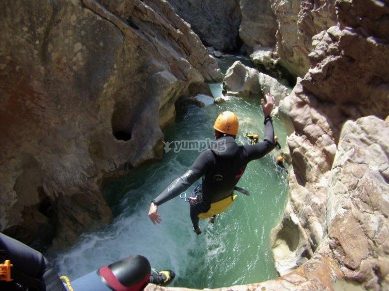 Salto en Barranco