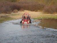 Rutas en buggy por el rio