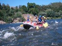 Rafting infantil