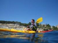 Percorso in canoa lungo la costa