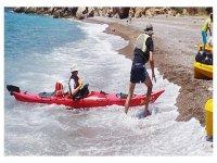 我们travesias拱门学习皮艇皮划艇俱乐部的车
