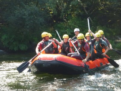 Rafting from Sinde to Ulla. 4h