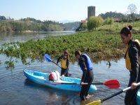 Kayak di acque calme