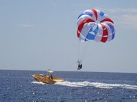 Parascending decollo