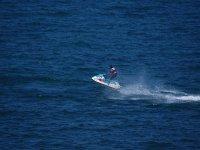 Ride a jet ski in the Mediterranean