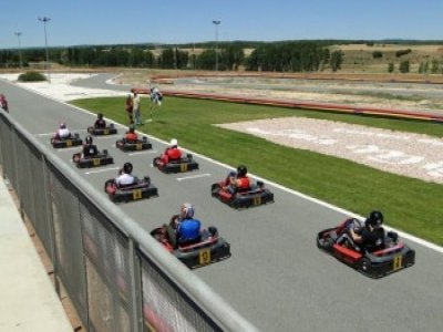 Karting Grand Prix in Fresno de la Fuente