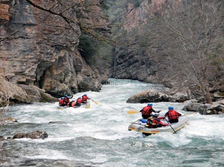Descenso río Veral