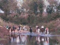 Rutas a caballo por el rio
