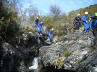 Pozas and canyoning