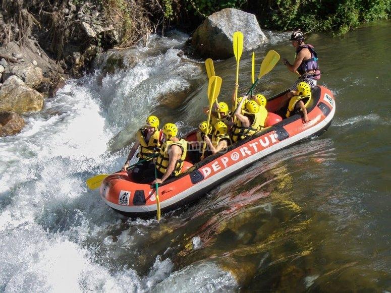 Descenso río Garona