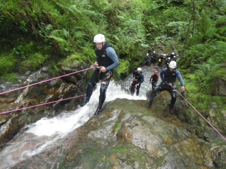 Descenso río Carangas