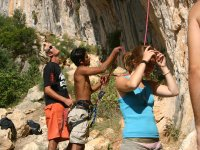 Prepararsi all'arrampicata