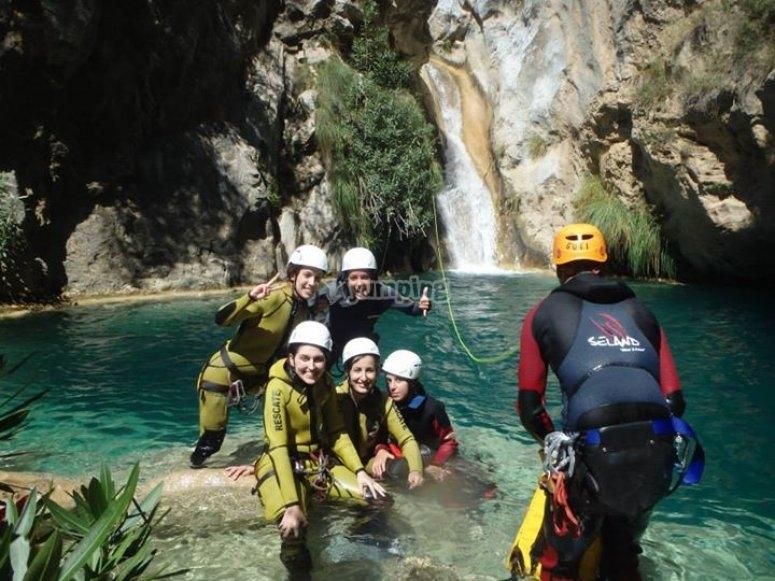 Descenso río Lentegí