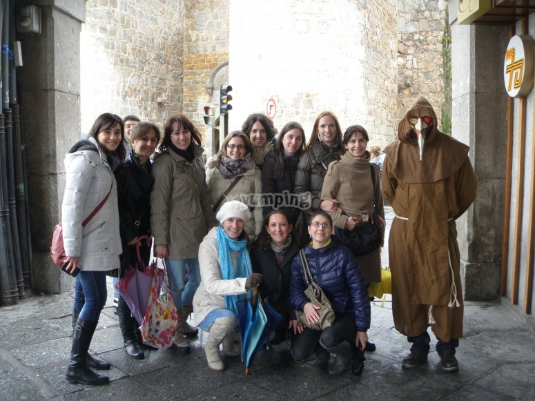 Gioco per gruppi ad Ávila