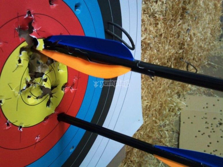 Preparing an arrow