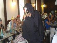 Actor durante la cena