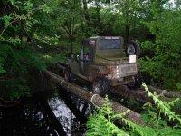 Pasando un puente en buggy