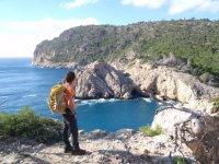 Hiking trails along the coast