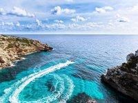 Velocidad en el Mediterraneo balear