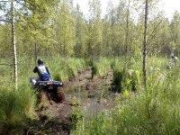 Ruta embarrada en quad por tierras riojanas