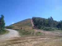 Paisajes de montana en Álava para recorre en BTT