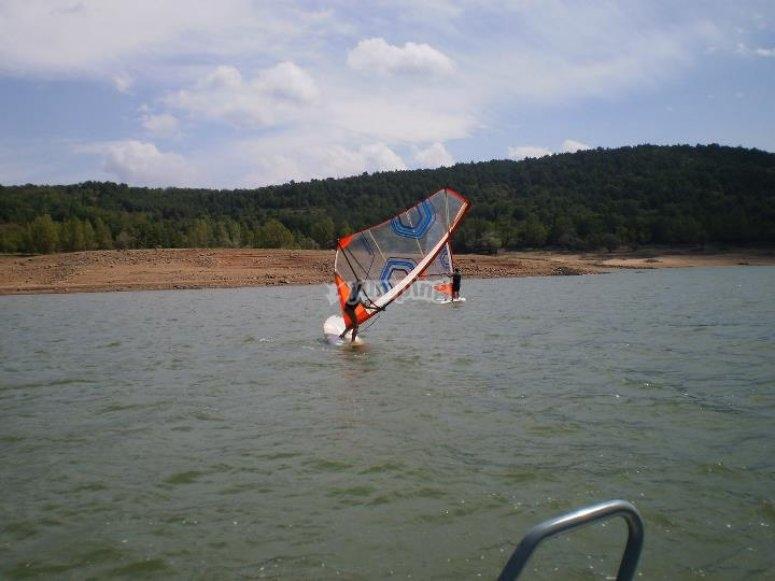 Windsurf en Pantano de Ortigosa