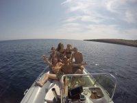 De ruta en barco por Mallorca