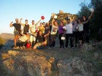 Grupo de ferrata en Badajoz