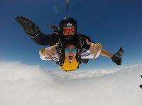 Instructor de paracaidismo tandem en Portugal