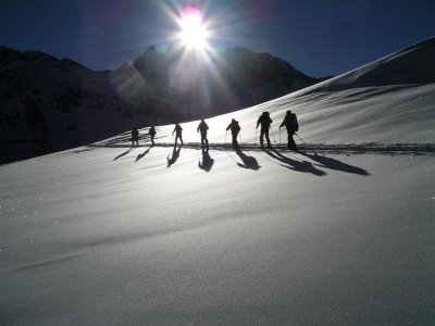Media jornada de esquí de fondo en Madrid