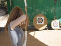 Learn to practice archery in Madrid