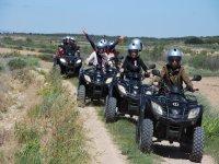 Excursión para grupos en quad río Queiles
