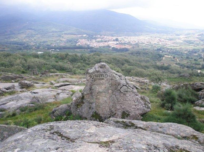 Paisajes los Tres Picos de la Vera