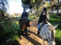 Excursion romantica a caballo
